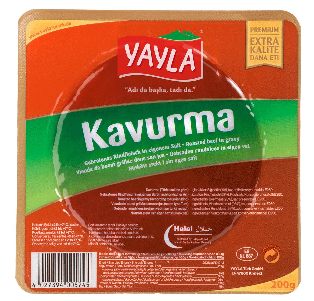 Yayla | Gebratenes Rindfleisch im eigenen Saft