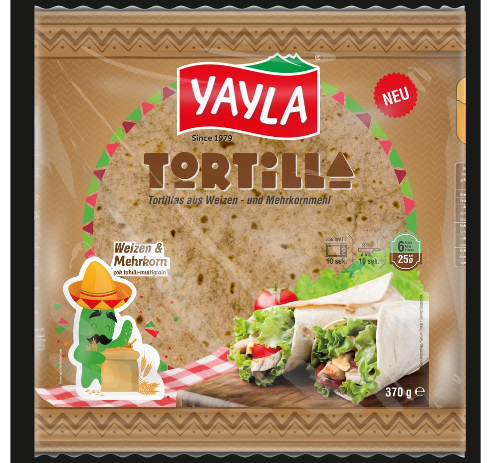 Mehrkorn Tortilla 6x25cm