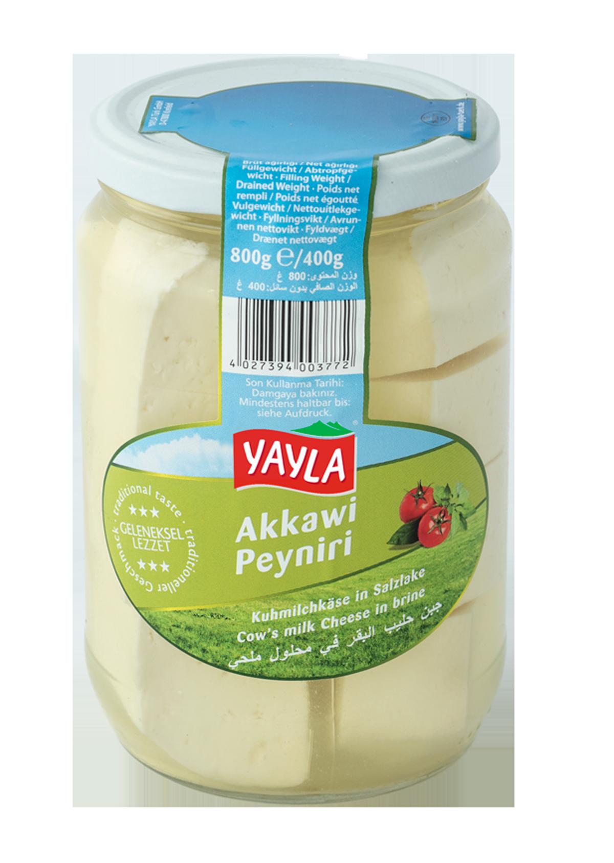 Käse in Salzlake