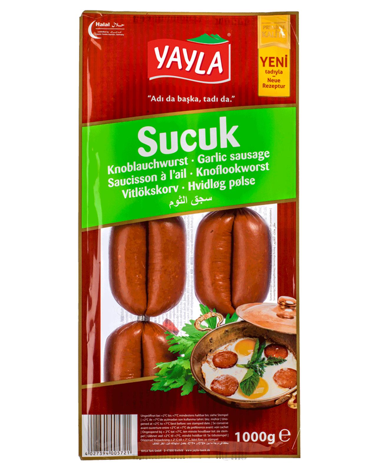 Yayla | Sucuk – Knoblauchwurst