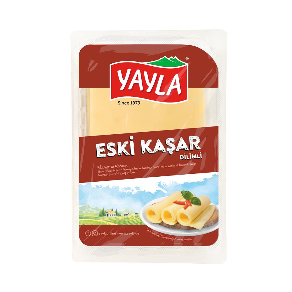 Edamer Käse in Scheiben