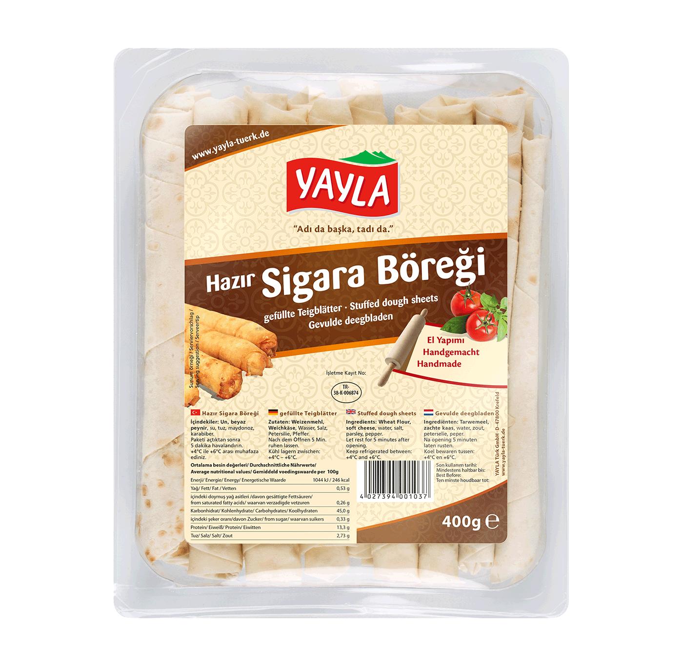 Yayla | Teigblätter mit Käse-Füllung
