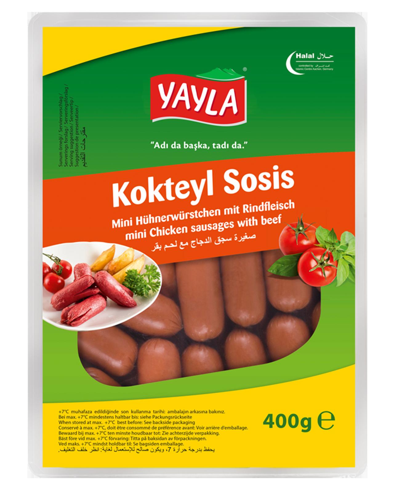 Yayla| Mini Hühnerwürstchen mit Rindfleisch