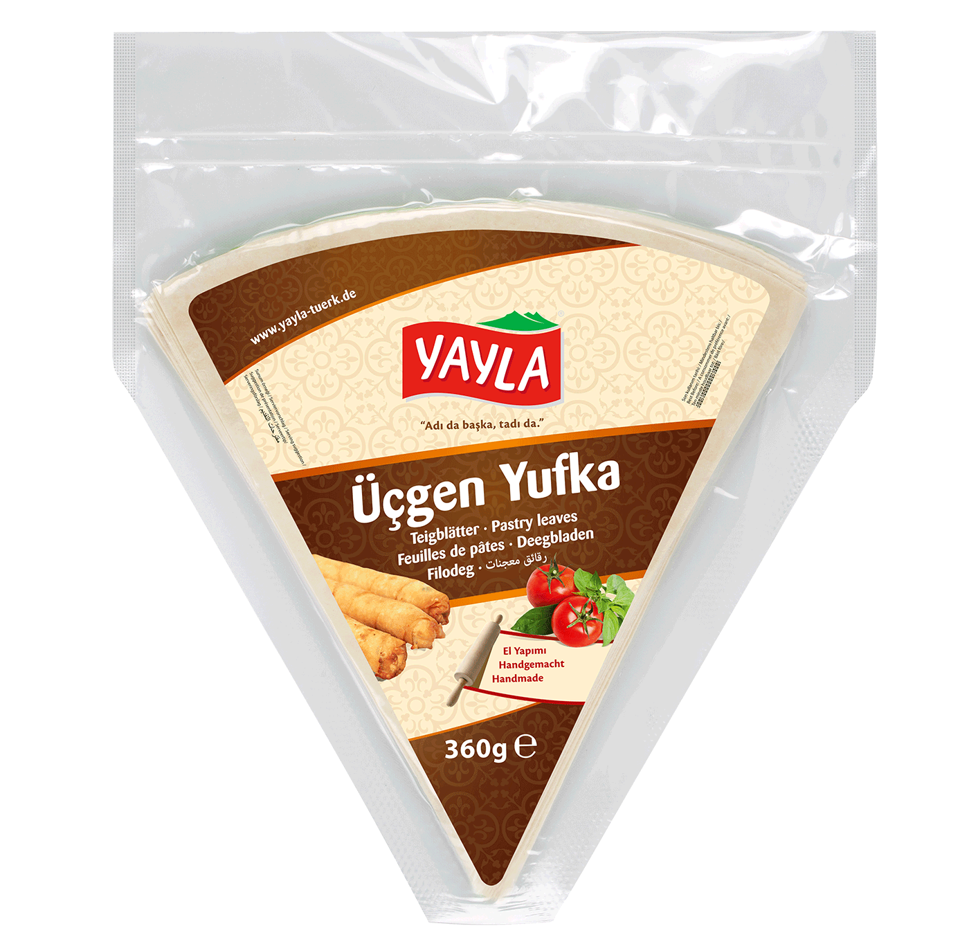 Yayla | Dreieckiger Blätterteig