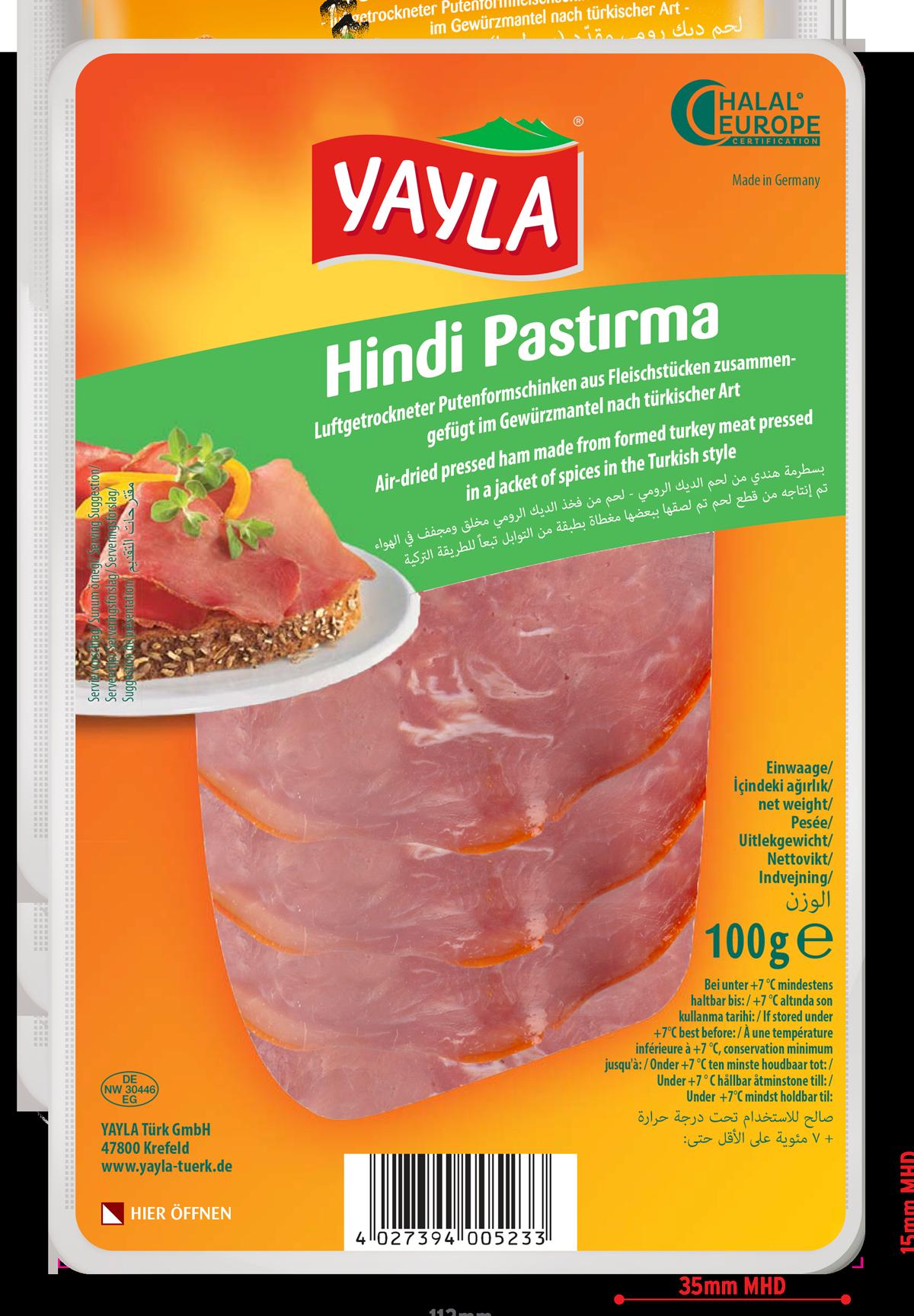 Yayla | Putenformfleischschinken nach türkischer Art