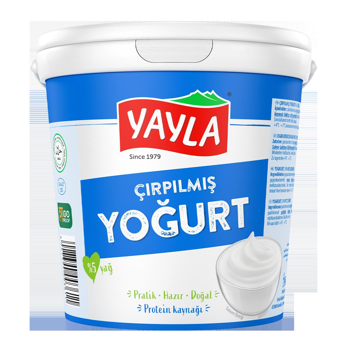 Joghurt, gerührt (5% Fett)